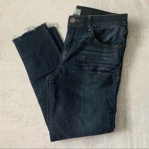 Wit & Wisdom Raw Hem Skinny Jeans